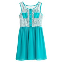 My Michelle Crochet Dress - Girls 7-16