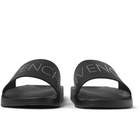 Givenchy - Studded Leather Slides | MR PORTER