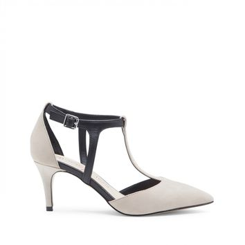 Sole Society Avia T-Strap Pointed Toe Pump