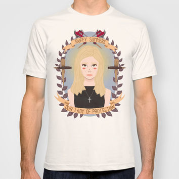 Buffy Summers T-shirt by Heymonster