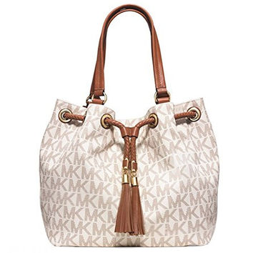 5dce9a75f377 Michael Kors Women's New Fashion Item Large Gathered Logo Tote