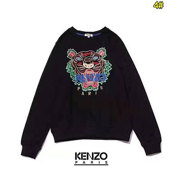 KENZO Fashion Women Men Embroidery Long Sleeve Round Collar Sweater Sweatshirt Top 4#