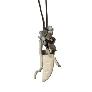 Chan Luu Bone Charm Necklace