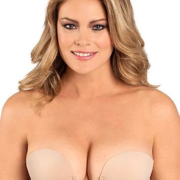 Plus Size U Plunge Backless Strapless Bras