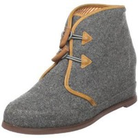80%20 Women's Eliotte Toggle Ankle Boot,Grey Wool,8 M US