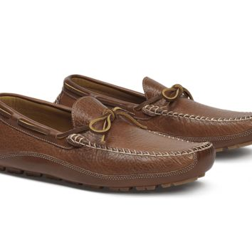 Drake Bison Loafer in Saddle Tan by Trask