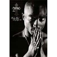 Tupac Shakur-Only God Can Judge Me, Music Poster Print, 24 by 36-Inch