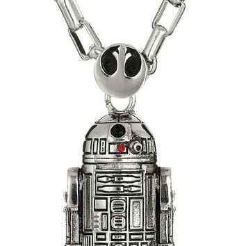 Star Wars by Han Cholo Unisex R2D2 Pendant Necklace