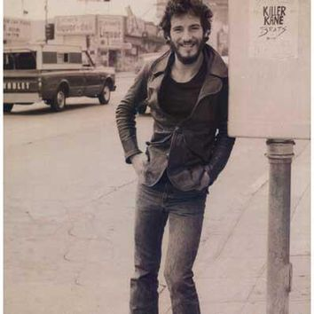 Bruce Springsteen Sunset Strip Poster 12x18