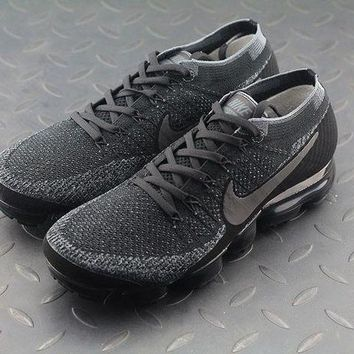 PEAP8KY Nike Air Max Vapor Max Triple Black For Women Men Running Sport Casual Shoes