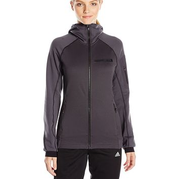 adidas Outdoor Women's Terrex Stockhorn Hooded Fleece Jacket