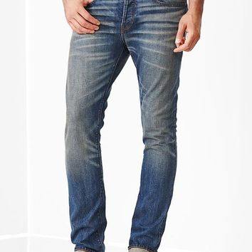 1969 Skinny Fit Jeans Tinted Blue Selvedge