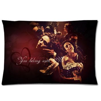 """Musical The Phantom of the Opera Background Two Side Printed Soft Cotton Pillowcase/Pillow case&Slip&Cover!Size:20""""*30"""""""