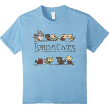 Lord Of The Cats | Cat Lovers Unisex T-Shirt