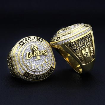 kobe bryant retirement tour ring  number 1