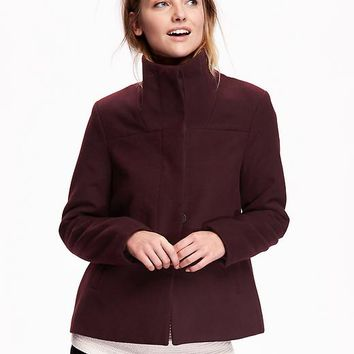 Old Navy Funnel Neck Coat