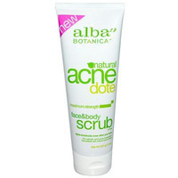 Alba Botanica Acnedote Face And Body Scrub (1x8 Oz)