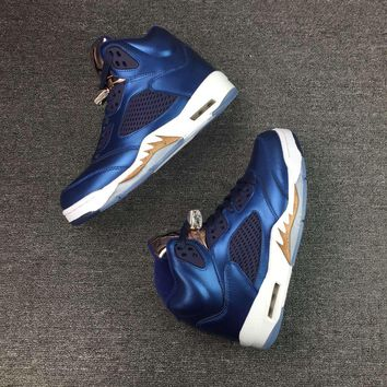 Air Jordan 5 Bronze Medal Basketball Sneaker