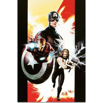 Ultimates #1 - Limited Edition Giclee on Stretched Canvas by Kaare Andrews and Marvel Comics