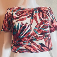 Short Sleeve Floreal Top