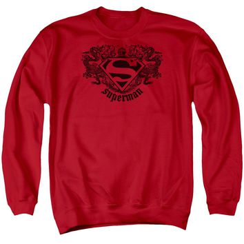 Superman - Superman Dragon Adult Crewneck Sweatshirt