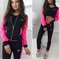 Nike: fashion casual sports 3 piece set Sportswear