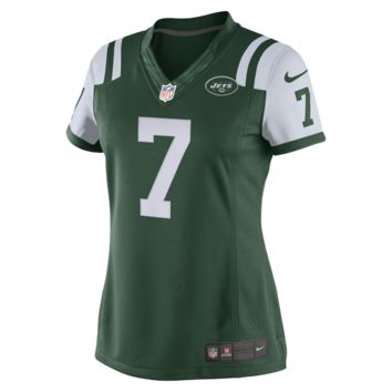 Nike NFL New York Jets (Geno Smith) Women's Football Home Limited Jersey