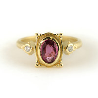 Megan Thorne Picture Frame Ring