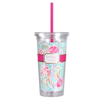 LILLY PULITZER: Tumbler - Jellies Be Jammin'