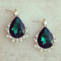 Pree Brulee - Anastasia Emerald Earrings