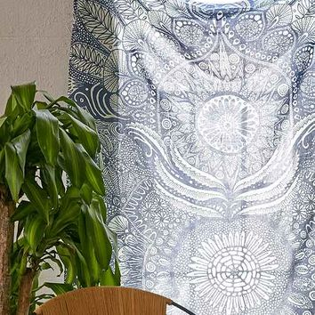 Yes Menu Mandala Tapestry