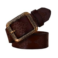 Belts Women New Fashion Belts Woman Vintage Genuine Leather Good Quality Belts