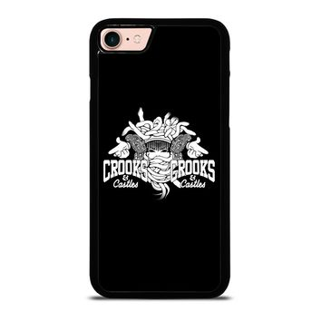CROOK AND CASTLES iPhone 8 Case