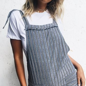 Sunday Session Playsuit Charcoal