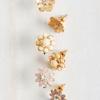 Floral Decorum Earring Set