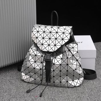 Hot Deal Stylish College Casual Comfort On Sale Back To School Winter Patchwork Geometric Backpack [11144728263]