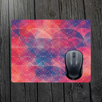 Geometric mouse pad Geometric pattern Computer mouse pad Laptop mouse pad Personalized mouse Customized mouse Abstract mouse pad