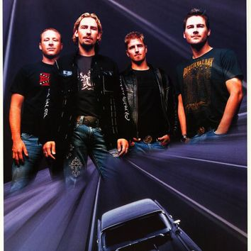 Nickelback 22x34 Music Poster (2007)
