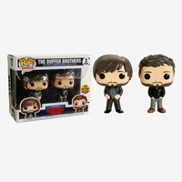 Funko Stranger Things Pop! Television The Duffer Brothers Vinyl Figure Set Limited Edition Hot Topic Exclusive