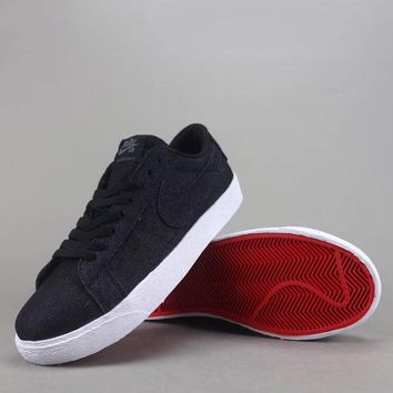 Nike Sb Blazer Zoom Low Women Men Fashion Casual Low-Top Old Skool Shoes