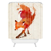 Robert Farkas Vulpes Shower Curtain
