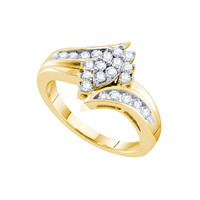Diamond Fashion Ring in 14k Gold 0.5 ctw