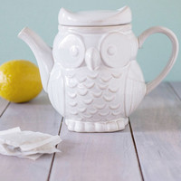 The Gang's Owl Here Teapot