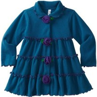 Love U Lots Girls 2-6X Tiered Jacket With Flower Trim $43.00 - $45.00