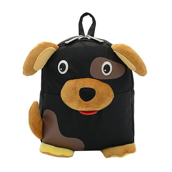 2017 New Design Baby Girls School Bag High Quality Boys Kids Cute Dog Cartoon Animal Backpack Toddler School Bag Gift For Kids