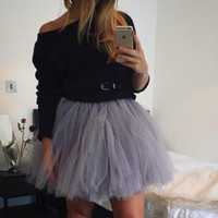 Mini Tutu, Adult Tutu, Tutu, Hen Party Tutu, Adult Tulle Skirt, HenDo Tutu, Fancy Dress Tutu, Black Tulle Skirt, Halloween Tutu, Rave Outfit