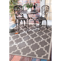 nuLOOM Outdoor Moroccan Trellis Area Rug (7'6 x 10'9) | Overstock.com Shopping - The Best Deals on 7x9 - 10x14 Rugs
