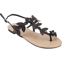 City Classified Setup Womens Sandals Black  In Sizes