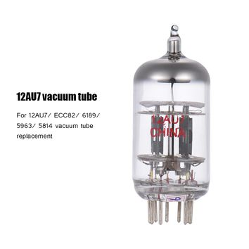 12AU7 Preamp Electron Vacuum Tube 9-pin Dual Triode for ECC82 6189 5963 5814 Tube Replacement