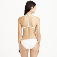 T-back string bikini top - swim - Women - J.Crew